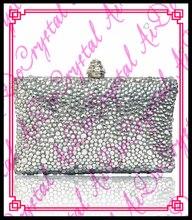 Aidocrystal diamant schnalle abendtasche damen weiß kristall geldbörsen und handtaschen