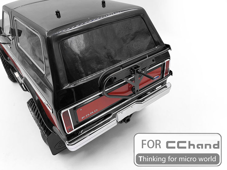 Cc 핸드 용 금속 타이어 홀더 bronco TRX 4 ford bronco traxxas TRX 4-에서부품 & 액세서리부터 완구 & 취미 의  그룹 3
