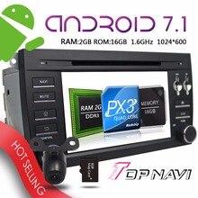 TOPNAVI 7 Android 7 1 Car GPS Navigation for Porsche Cayenne 2006 2007 2008 2009 2010