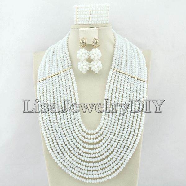 New Arrival African Beads Jewelry Set Nigerian Wedding African Crystal Beads Jewelry Set    HD2166New Arrival African Beads Jewelry Set Nigerian Wedding African Crystal Beads Jewelry Set    HD2166