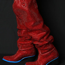bcbc5157cb Buy red diamond boots and get free shipping on AliExpress.com