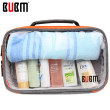 BUBM transparent digital receiving bag Cable Organizer toiletries house items Travel Case digital makeup storage sorting