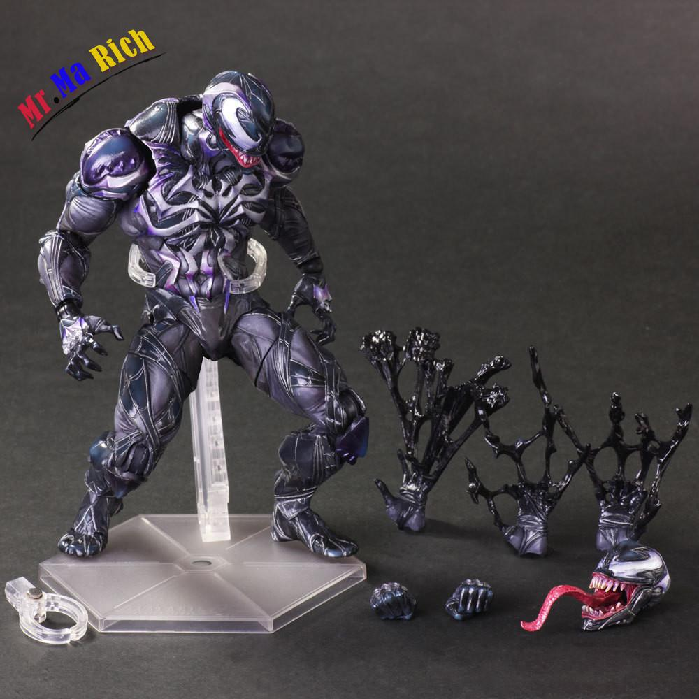 Film Figure 25 Cm Spiderman Méchant Venom Action Pvc Figure Brinquedos Collection Modèle Jouet