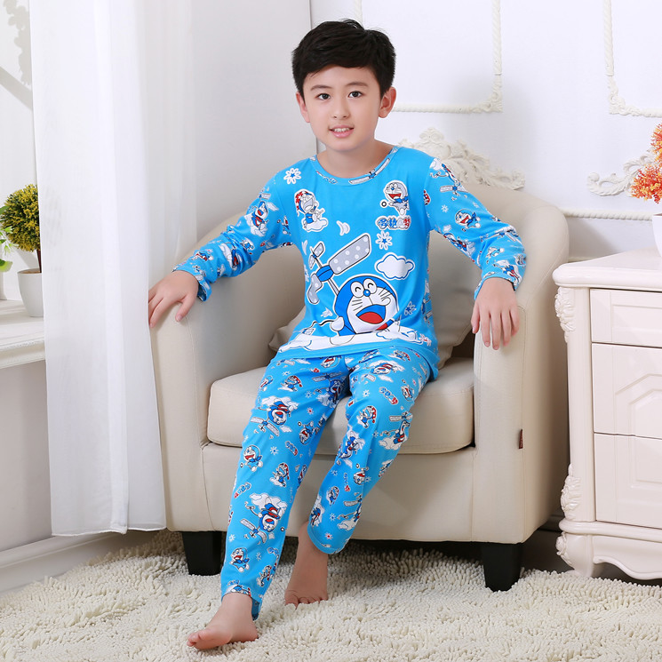 Dropwow DISCOUNTS 2018 Brand Cartoon Kid Pyjamas Autumn  Winter Boy ... 0b52155e6