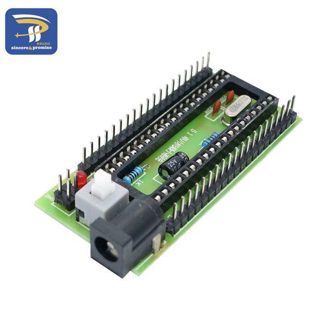 51 Single Chip Microcomputer STC SCM development board Minimum System Support STC89C52 STC12C5A60S2 STC11/10 series