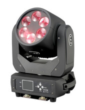 Dj disko aydınlatma led süper ışın movinghead 6x25 w rgbw 4in1 led hareketli kafa mini lir ışın aydınlatma
