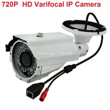 Outdoor waterproof CCTV Surveillance IR 40m bullet H.264 Onvif IP network webcam Camera POEwith HD 4-9MM Varifocal Lens