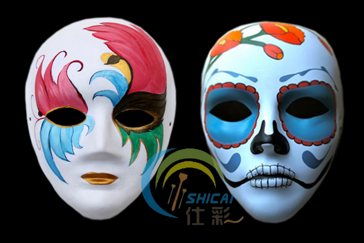 Pulp Favorite Artist Self Portraits Painted Mask Female Models Baipi