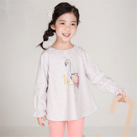 New Spring Autumn Baby Girl's Clothing Sets Sport Pullover Set Fashion Kid 2pic Suits Set Toddler Flamingo Tracksuit baby Cloth