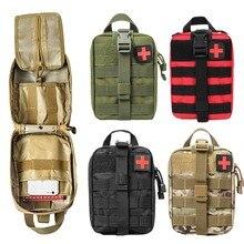Новая походная аптечка для путешествий, походная сумка, аварийный чехол, тактическая поясная сумка, походная сумка для альпинизма, наборы для выживания