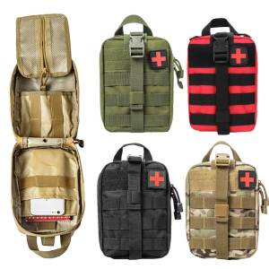 Waist-Pack First-Aid-Kit Climbing-Bag Survival-Kits Emergency-Case Travel Outdoor Tactical