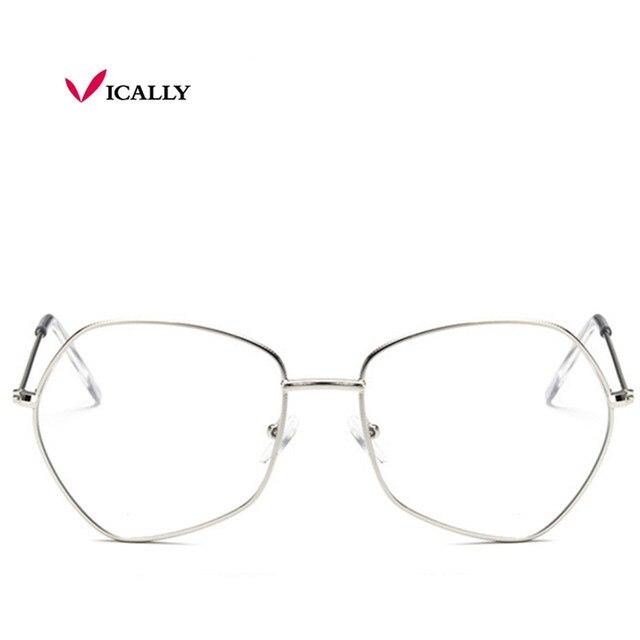 e22d8e2714c Super Light-weight Retro Glasses Frame Full Rim Gold Suneyeglass Clear lens  Frame Spectacles Glasses