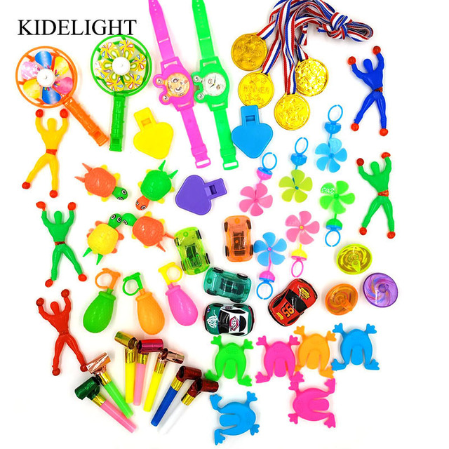 50pcs Kids Happy Birthday Party Supplies Pinata Fillers Baby Shower