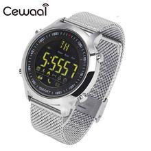 Cewaal Waterproof Sport Bluetooth 4.0 Wireless SMS Alert Smart Watch Message Sport Fitness Activity Pedometer Stopwatch Gift