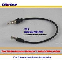 Chevrolet Express van HHR Için Liislee Impala Malibu Monte-Araba Radyo Anten Adaptörü/Aftermarket Stereo Anten Tel Standart