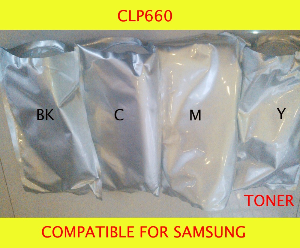 Fast Delivery Compatible for samsung CLP660 Chemical Color font b Toner b font Powder Free Shipping