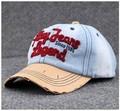 55-63cm classic old denim baseball cap large size sport hat 7color 1pcs brand new arrive