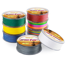 Soloplay HOT Sale!300m Super Strong Japanese Multifilament 4 Strands PE Braided Fishing Line softwater 6-80LB Fishing Wire