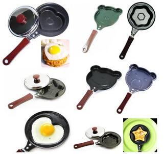 50pcs breakfast omelette pan kt love smiley omelette device frying pan pancake pan