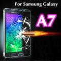 2016 НОВЫЙ Закаленное стекло 2.5D Для Samsung Galaxy A3100 A5100 A7100 S3 S4 S5 S6 фильм 9 H 0.26 мм Настоящее Премиум Экран Защитную