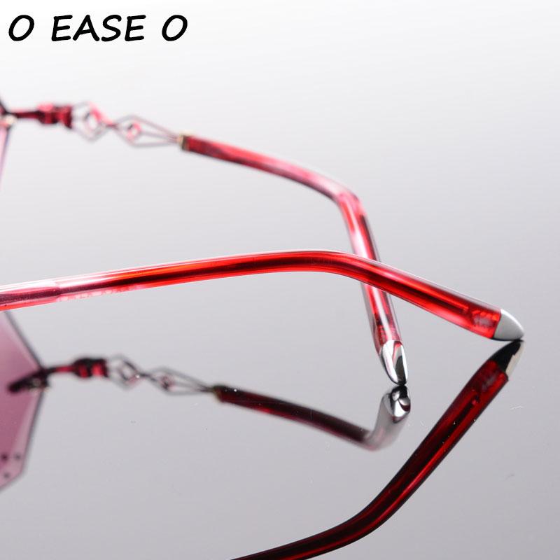 61 purpurrot Legierung Linsen Sonnenbrille Diamant 58073 Frauen Hochwertige Und Getönte Trimmen 1 Acetat Mit Asphärische Rot 2017 Neueste rosa xP86Xnw8T
