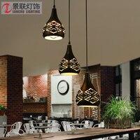 Vintage Pendant Lights Loft Lamp Avize Nordic Hanglamp Restaurant Kitchen Light Suspension Luminaire Home Industrial Lighting