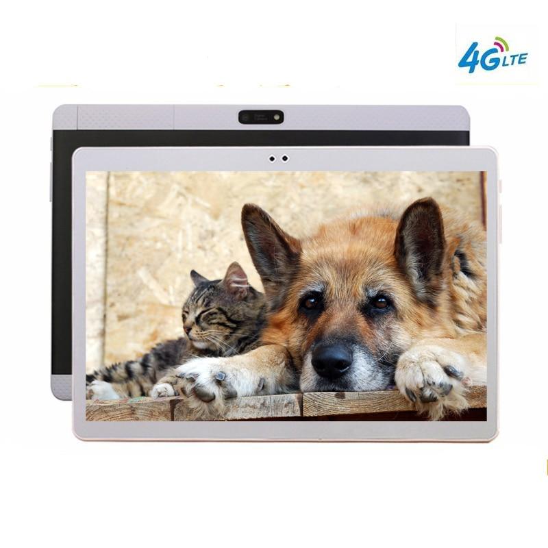 Tablet Gps  10.1' Tablets Android 7.0 10 Core K99 Dual Camera Dual SIM Tablet PC 2560x1600 WIFI OTG GPS Bluetooth Phone 128 GB
