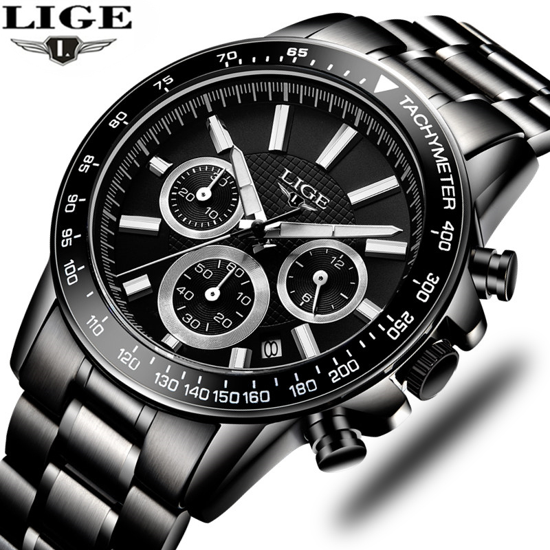 Men's Military Sports Watch Men's Stainless Steel