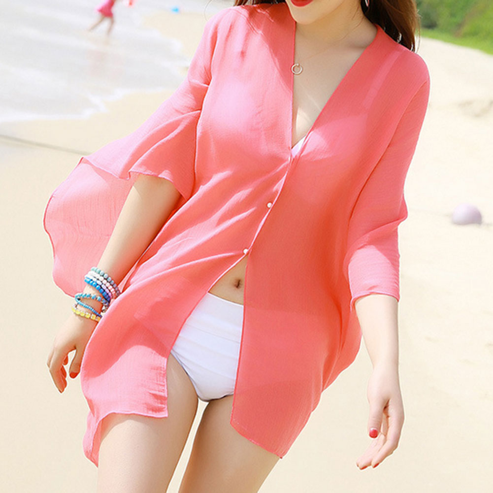 2017 Summer Women Fashion Beach Cover Up Sexy Swimsuit Bathing Suit Cover Up Kimono Beach Wear Dress Boho Multifunction Scarf H1