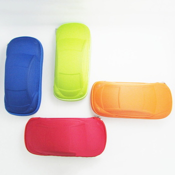 Kids Children Toddler Fashion Portable Lightweight Car Shaped Glasses Case Box image
