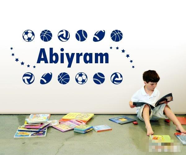 ツ)_/¯PERSONALIZZATO/Personalizzare i vostri bambini nome con sport ...