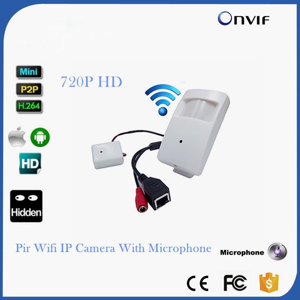 CCTV Мини Wi-Fi IP Камера Беспроводной 720 P HD P2P Onvif IP Камера тайное HD PIR STYL мини Беспроводной IP камера С микрофоном