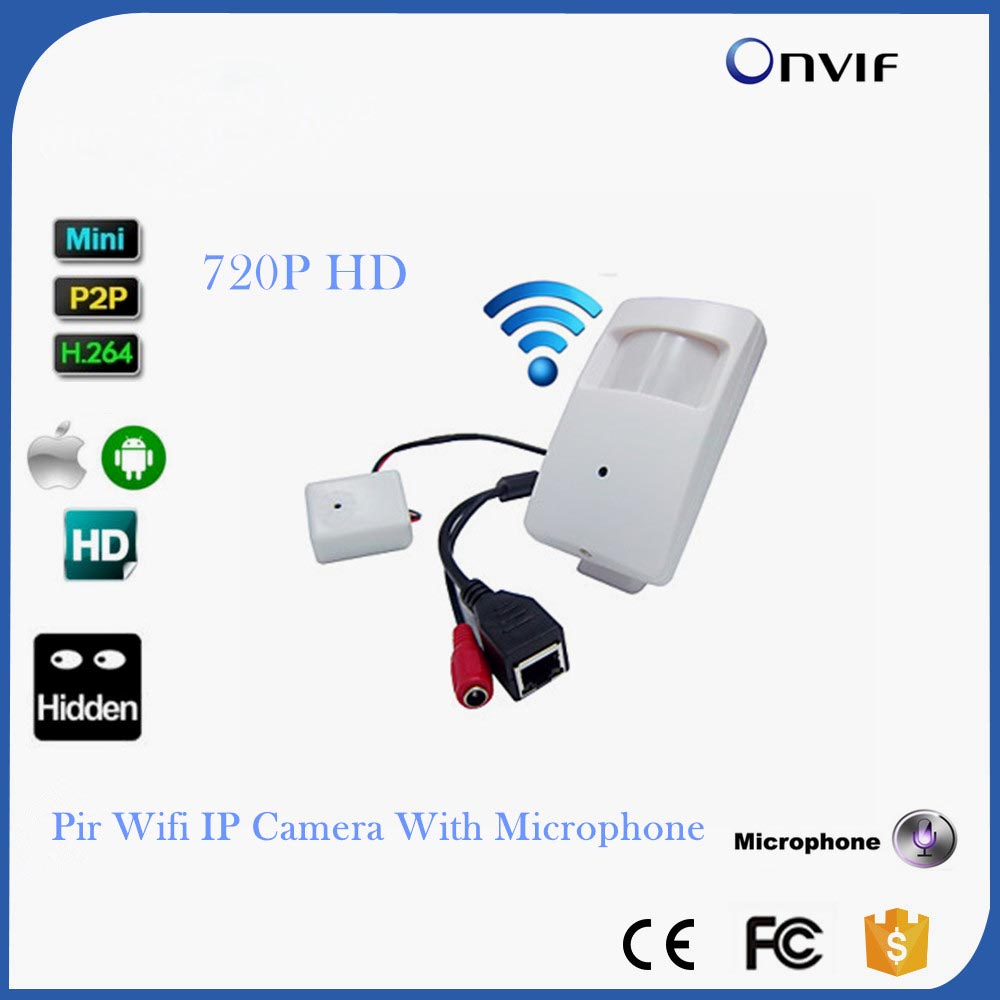 CCTV Mini Wifi IP Camera Wireless 720P HD P2P Onvif IP Camera Covert HD PIR STYL Mini Wireless IP Camera With Microphone стоимость