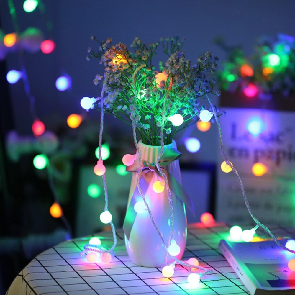 1.5M 10 LED Star Light String Led Ball Flashing String Outdoor Waterproof Christmas Day Decorative Lights