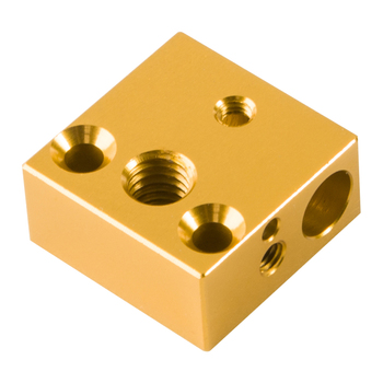 Creality 3D Printer Replacement Part 1PCS Heated Block Extruder 20*20*10MM for Creality CR-10 CR-10S 3D Printer Kit