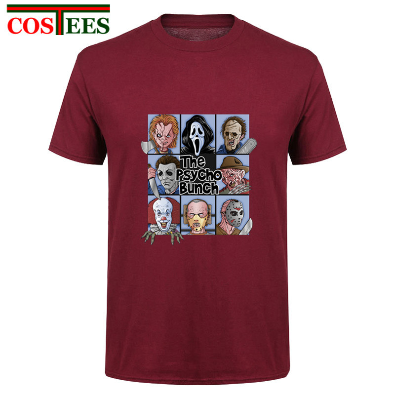 Halloween Friday the 13th Tee Texas Horror Killer Jason Voorhees T shirts The Massacre Machine t shirt Camp Crystal Lake T-shirt image