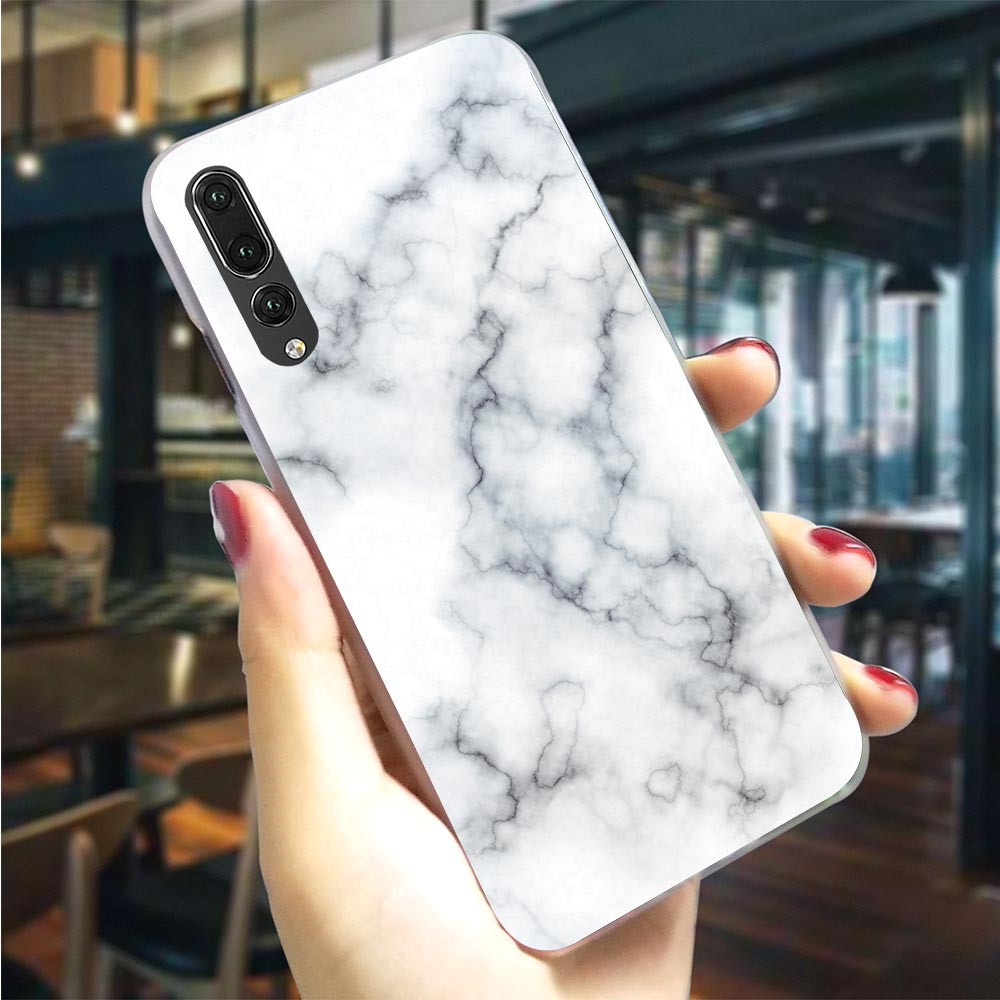 Hard Cover for <font><b>Huawei</b></font> <font><b>P10</b></font> Pretty <font><b>Marble</b></font> <font><b>Case</b></font> for P9 Lite <font><b>Case</b></font> P8 P20 Pro Mini P Smart Mate 10 20 Back Skin Fashion image