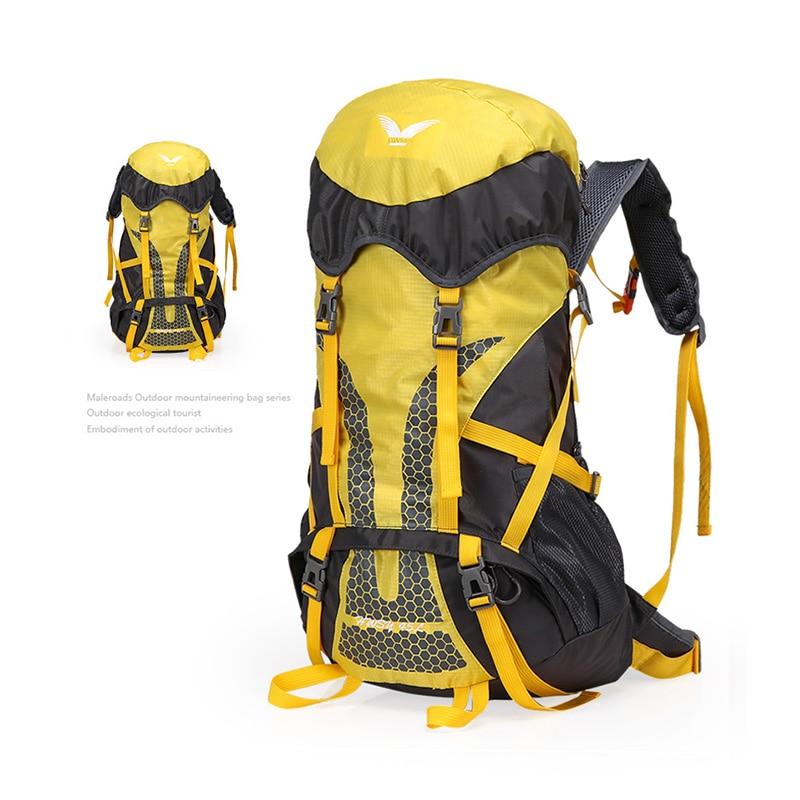 Sacs d'escalade en plein air Camping sacs à dos de voyage en plein air professionnel ultraléger imperméable randonnée sac à dos d'équitation 45L 50L CB107G