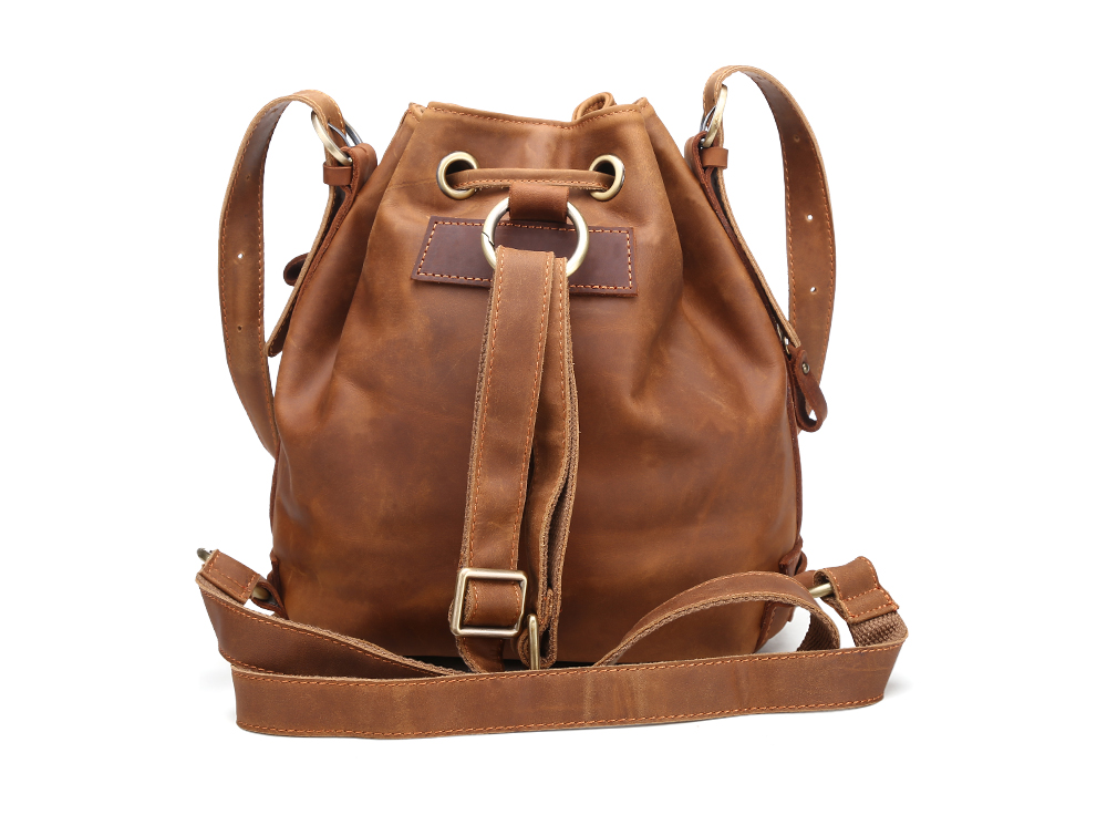 XIYUAN Casual Women Genuine Leather Backpack For Teenage Girls Large Capacity Laptop Shoulder office Bags Mochila backpacks bag 33cm women backpack oil wax cow genuine leather backpack for teenage girls school large capacity shoulder bag brown tote mochila