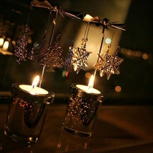 Spinning Carousel Tea Light Candle Holder