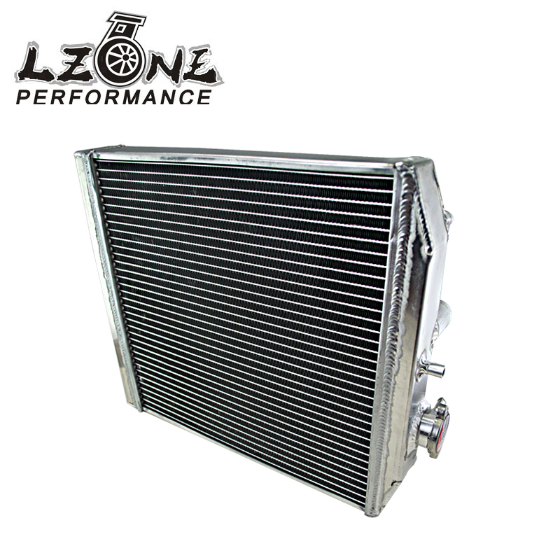 LZONE RACING - 2 Row 42MM Aluminum car auto Radiator for Honda Civic Del Sol 92-00 MT EG / EK JR-SX103