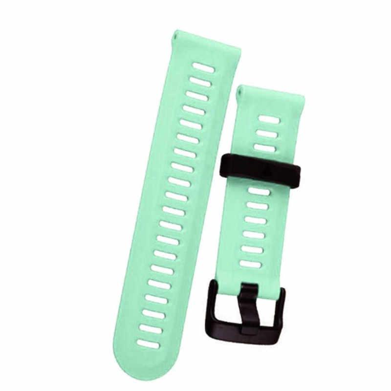 אביזרי שעון עבור garmin fenix 3/hr רך סיליקון שעונים בנד רצועת שעון החלפת עם כלים קוראת reloj