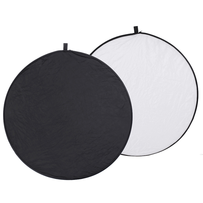 White and Black Translucent FRITHJILL Photography Reflector Photo Video Studio 43-inch // 110cm 5-in-1 Collapsible Multi-Disc Light Reflector with Bag Silver Gold