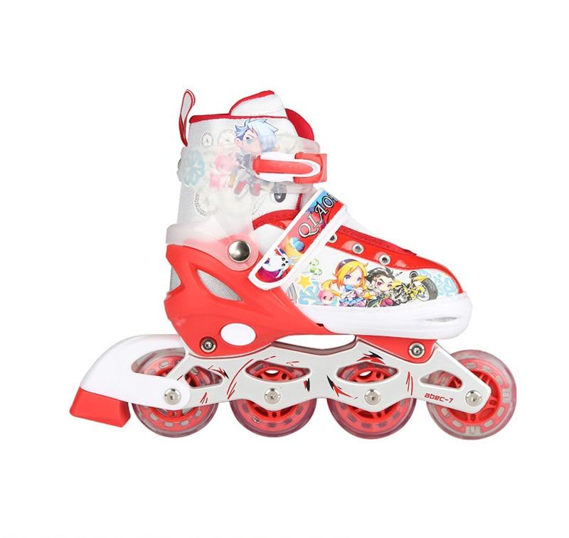 Lovely Cute Boy Girl Children Inline Skates Skating Shoes Adjustable Breathable Skates Shoes Patines 3 Color Lovely Cute Boy Girl Children Inline Skates Skating Shoes Adjustable Breathable Skates Shoes Patines 3 Color