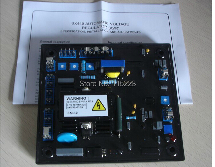 Stamford SX440 Automatic Voltage Regulator AVR For Generator stamford avr as480 discount automatic voltage regulator