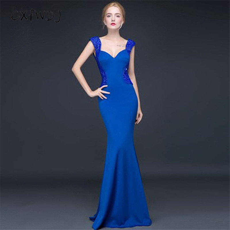 Red Women Elegant Evening Dresses Sexy Formal Evening Gown V-neck Party Asymmetric Reception Evening Dresses Plus Size Es1845 Weddings & Events