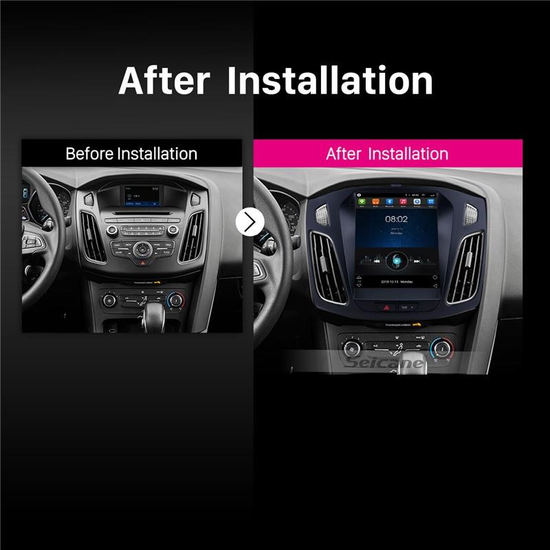 Seicane Android 9,0 10,1 дюймов Авторадио автомобильный gps навигатор блок плеер для 2009 2010 2011 2012 2013 BMW X1 E84 радио Зеркало Ссылка - 4