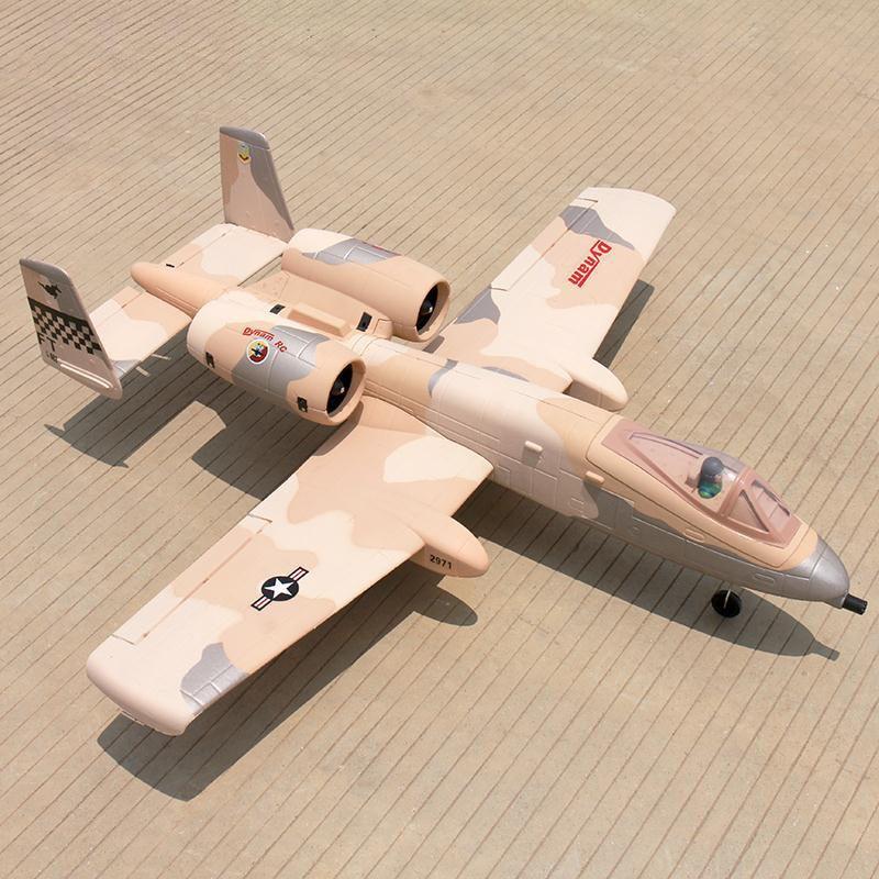 Dynam Desert 1080MM A10 64MM EDF RC RTF Plane W/ Motor ESC Servo Battery