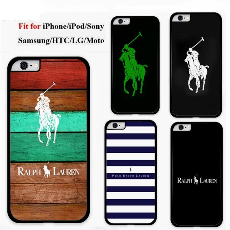 Striped Polo Ralph Lauren Mobile Phone Cover Case for iPhone 4s 5s 5c 6s 6splus 7 7plus Samsung Galaxy S3 S4 S5 S6 S6 edge S7