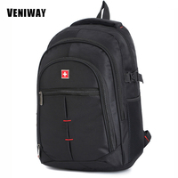 VENIWAY Swiss Man S Gear Waterproof Laptop Backpack 15 Inches Large Capacity For Swiss Business Backpacks
